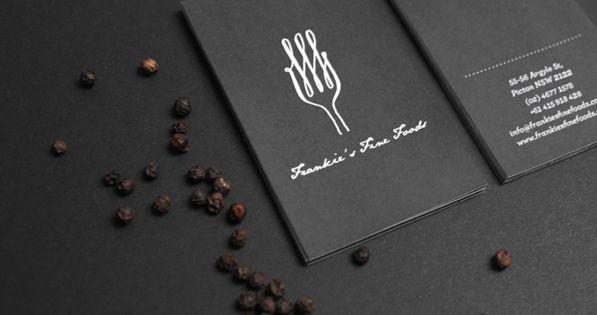 Frankie's Fine Foods / logo / design / brochures / menu /