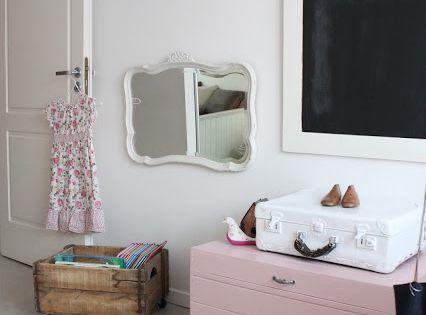Producci n decoraci n de un cuarto de nena decoraci n - Decoracion vintage habitacion ...