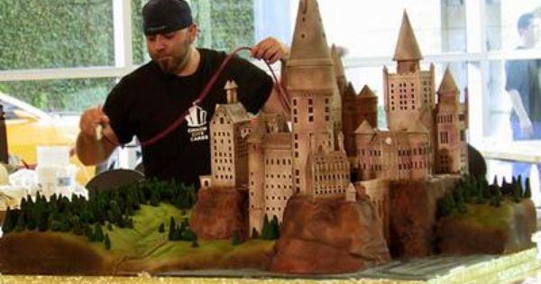 ace of cakes hogwarts harry potter cake random