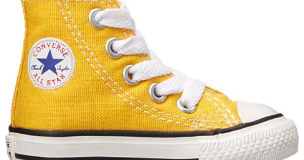 yellow converse. | Yellow converse