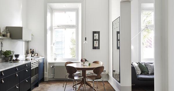 Cocinas actuales para tu vivienda escandinava http ini for Cocinas actuales pequenas