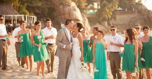 10 Beautiful Wedding Color Combinations