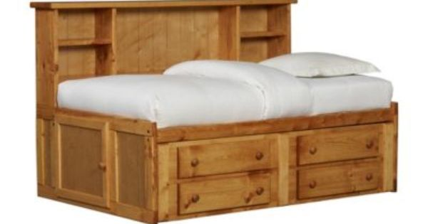 Bedrooms timber trail keystone bed bedrooms havertys for A p furniture trail