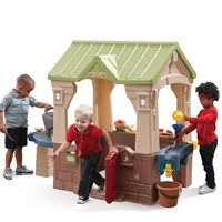 Naturally Playful Front Porch Playhouse With Images Play