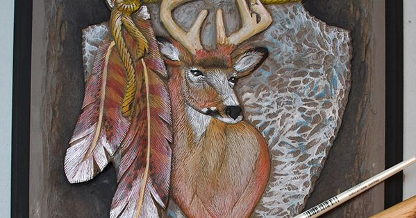 Mule deer relief carving free project by lora irish wood