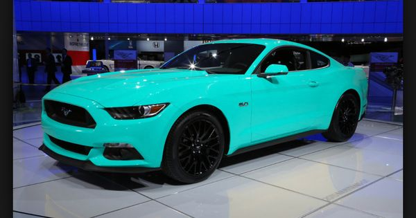 Ford Mustang 2015 Gt Teal Cars Pinterest Ford
