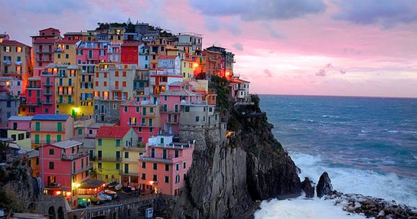 Cinque Terre, Italy ... Plenty of Colour