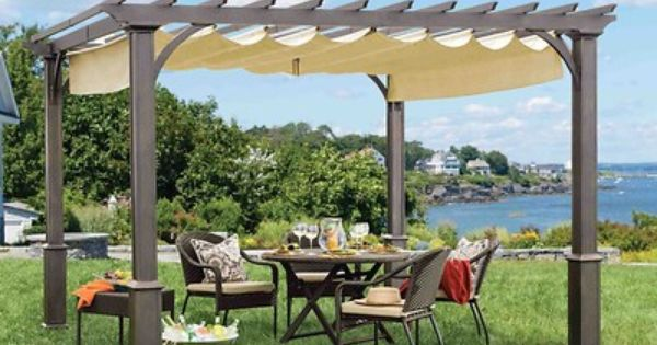 Define your outdoor space with this classic 10 x 10 pergola. The ...