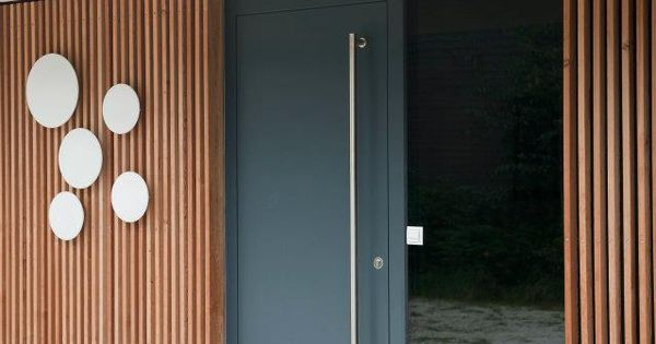 haus t ren josko aluminium holz werkstoffe modernes design haust ren entry doors pinterest. Black Bedroom Furniture Sets. Home Design Ideas