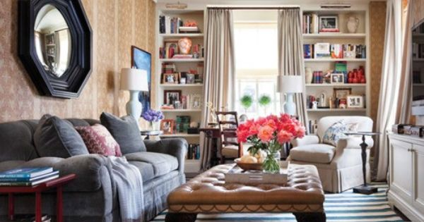 Cozy room belonging to Ali Wentworth