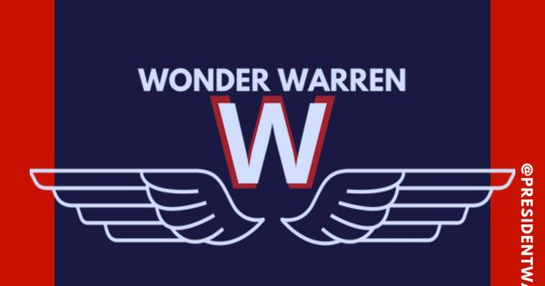 Wonder Warren Logo Elizabeth Warren Wonderwarren Download