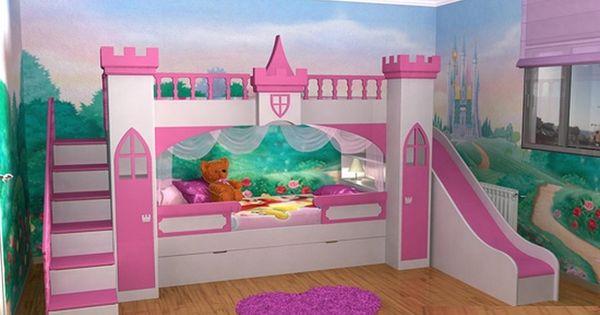 Camas originales para decorar dormitorios de ni as 4 for Habitaciones para ninas de 7 anos