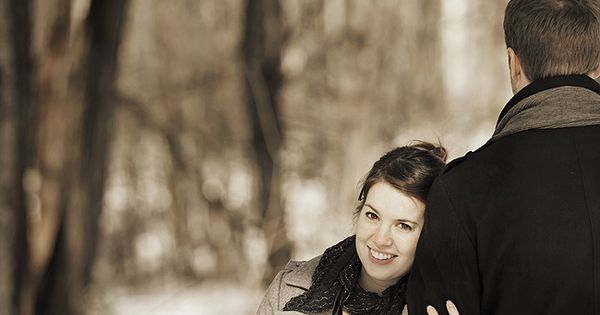 Winter maternity photo ideas.have him turn around behind you and then have