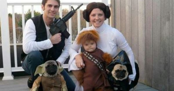 halloween. Star Wars family. THIS IS AMAZING(LY FUNNY)