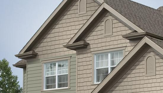 Vinyl Shake Siding Shingle Siding From Exterior Portfolio Home Exterior Ideas Pinterest