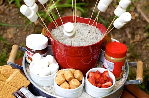 Summer Fun: How To Create a S'mores Bar...great for all those summer