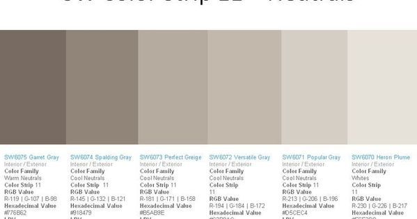 Sherwin Williams Perfect Greige 6073 Google Search For The Home Pintere