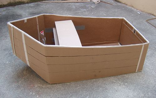 How to make a cardboard boat | VBS | Pinterest | Boats, Boating and How to make