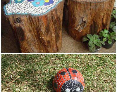15 Garden Mosaic Projects