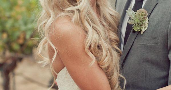 Beautiful wedding hair inspiration. wedding hair weddinghair bride bridal