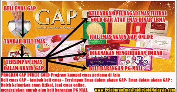 Gold Accumulation Program Gap Public Gold Emas