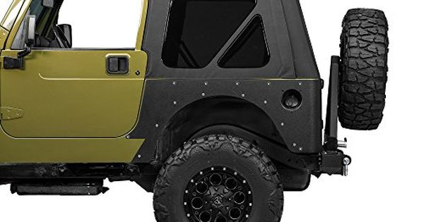 Barricade Tj Jeep Rear Corner Guards Jeep Jeep Wrangler Tj Jeep Wrangler