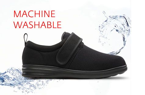 Dr Comfort machine washable shoes. Easy