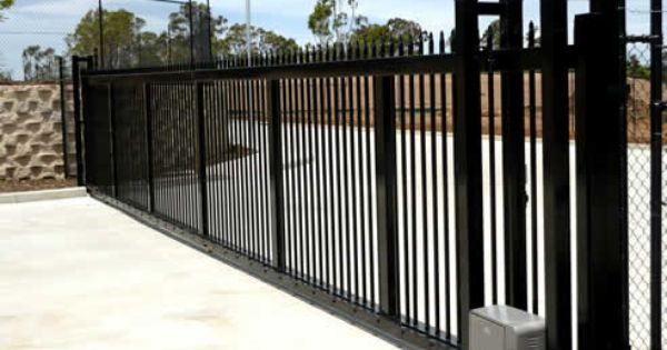 Automatic Gates Can Be Operated By A Push Button And Or