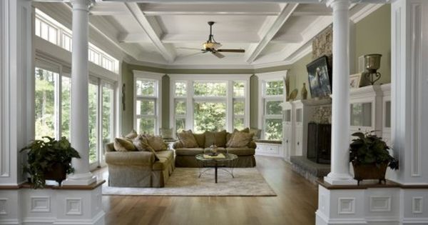 Windows openness what more could you ask for dream for Family room columns
