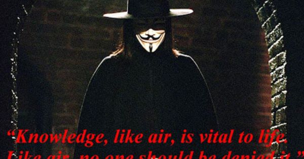 V for Vendetta quote | Quotes by Geeks | Pinterest | Of, V ...