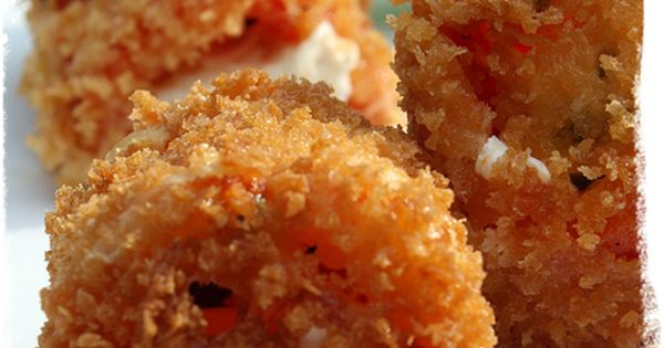 Fried Stuffed Tomatoes | Recipe