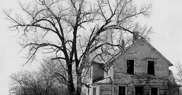 Photography Homage John Vachon Farm House Abandoned In