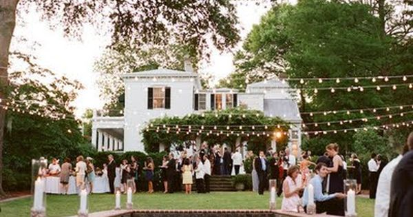 Find This Pin And More On Outdoor Wedding Lighting By Nmbenn.