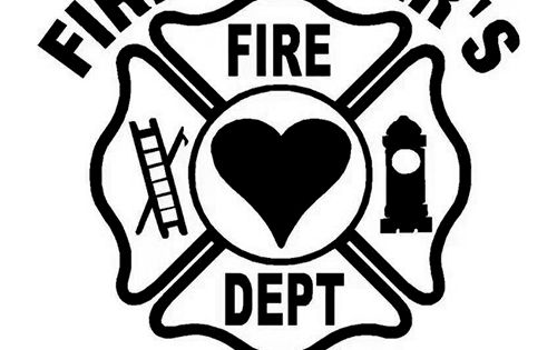 firefighters wife die cut vinyl decal pv882