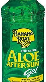 Banana Boat Aloe Vera Gel 16 Fluid Ounces Learn More By Visiting The Image Link This Is An Affiliate Link Sunscre Aloe Vera Gel Banana Boat Sunburn Skin