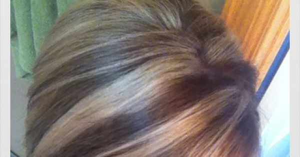 My Chunky Highlights And Lowlights Hairstyle Pinterest