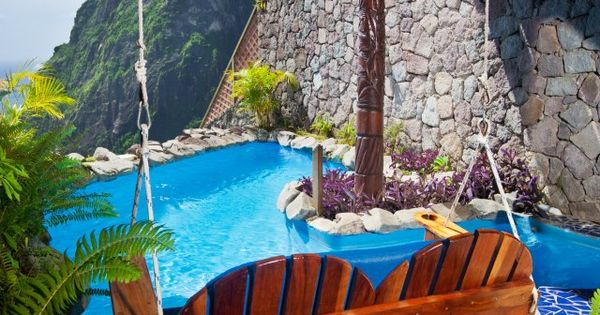 St. Lucia Ladera Resort... Beautiful Place Together With Your Loved One. -