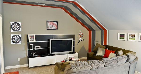 Atlanta Falcons Themed Bonus Room Sports Room