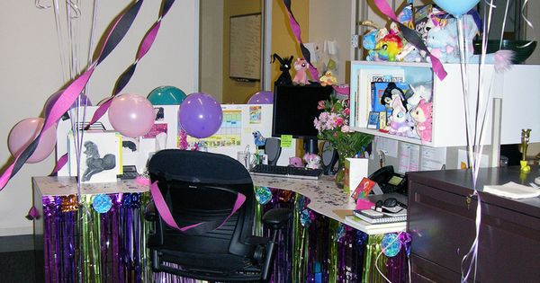 birthday cubicle decorating ideas how to decorate a