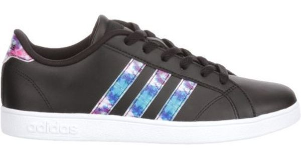 Adidas Kids' Baseline K Casual Shoes (Footwear White/Core Black, Size 7) - Boy's Lifestyle Shoes ...