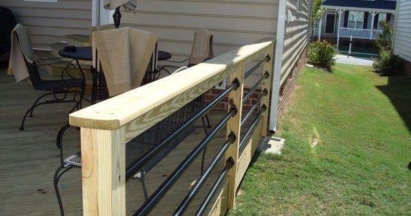 Best Copper Pipe Railing Porch Ideas Pinterest Railings 400 x 300