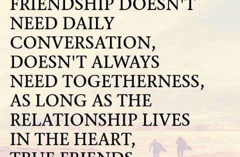 True friendship doesn't end with distance. This summer might be tough but