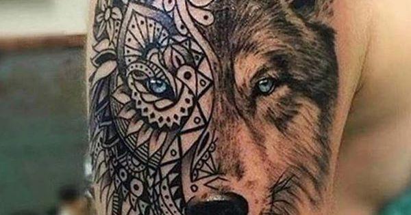 26 wolf tattoo ideen bilder und bedeutung tattoos pinterest wolf tattoos w lfe und tattoos. Black Bedroom Furniture Sets. Home Design Ideas