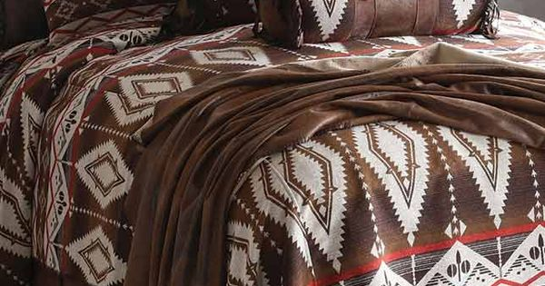 Pecos Trail Queen Comforter Bedding Set Southwestern