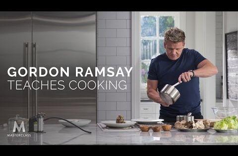 Gordon Ramsay Masterclass Popsugar Food Gordon Ramsay Gordon Ramsey Chef Gordon Ramsay