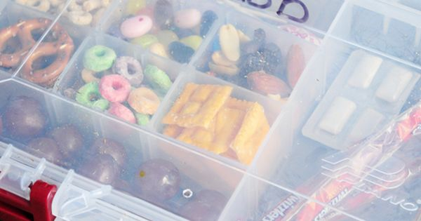 Travel snack kit for kids! Great for road trips and vacations! (I