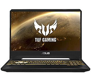 Asus Tuf 15 6 Gaming Laptop Amd Ryzen 8gb 512gb Ssd Qvc Com Asus Gaming Laptops Asus Laptop