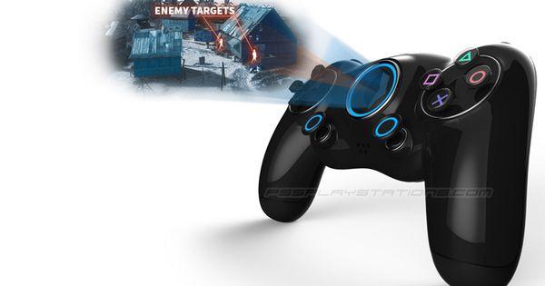 PS5 Controller Concept Art by Danny Haymond Jr   PS5 ...