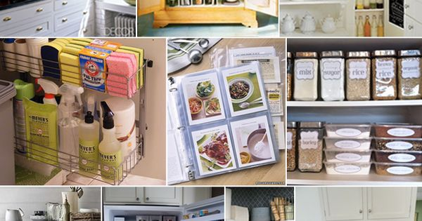 Kitchen organization tips for your family www for Cheap kitchen organization ideas
