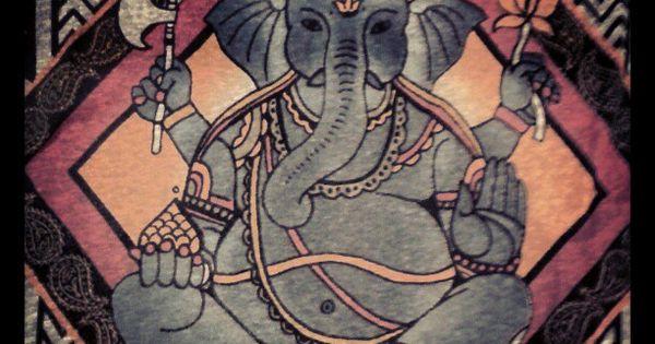 elephant painted elephant pinterest. Black Bedroom Furniture Sets. Home Design Ideas